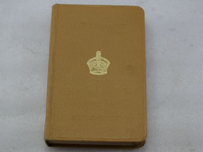 WW2 British Military Service Edition New Testament