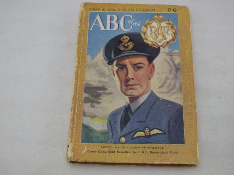 WW2 RAF Book ABC of The RAF 1942 for the RAF Benevolent Fund
