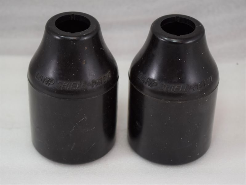 Interesting WW2 NOX ARP Lamp Shield Pair For House Lighting During Black-Out