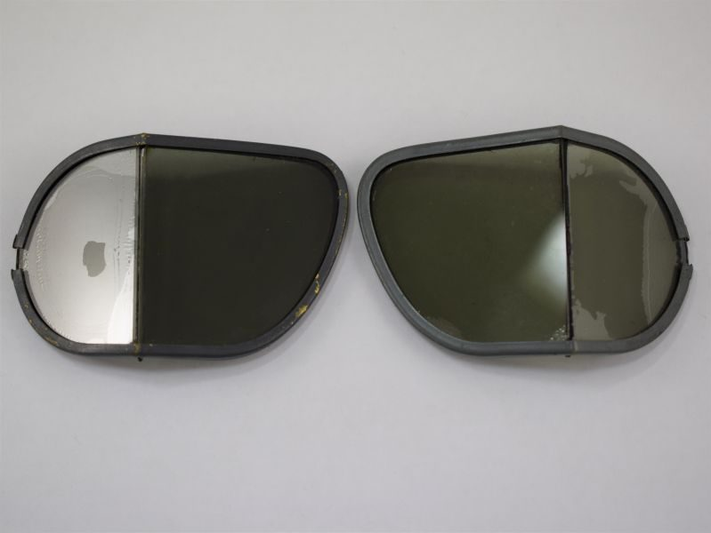 WW2 RAF MKVIII Flying Goggle Tinted Lenses