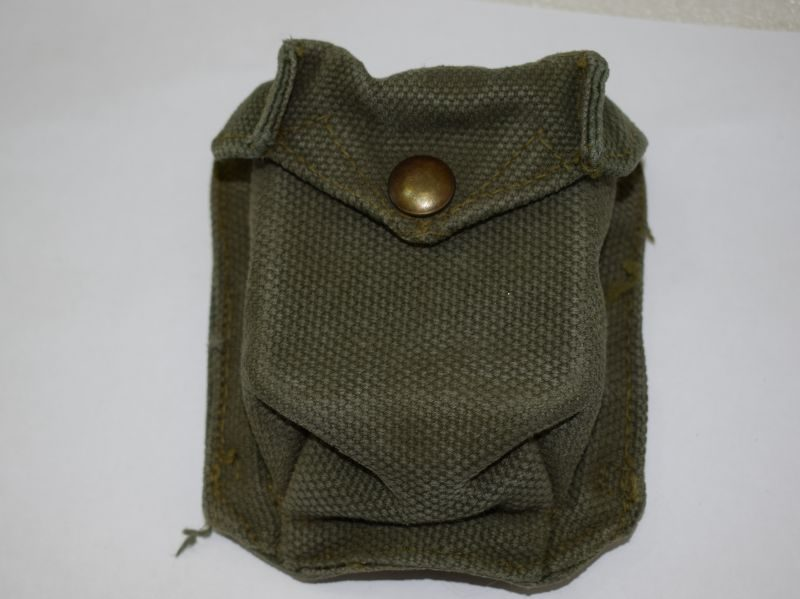 Original Canadian Made 1951 Pattern Web Equipment Compass Pouch WE'51
