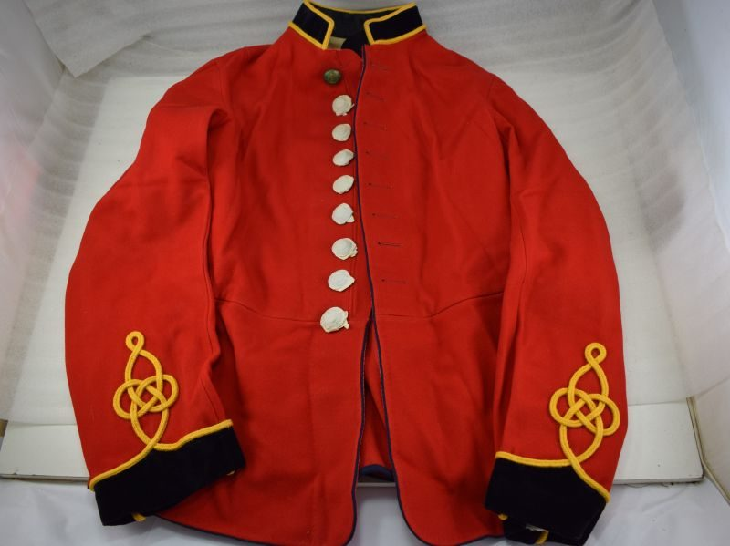 Excellent Near Mint WW1 Royal Engineers Scarlet Tunic Dated 1913