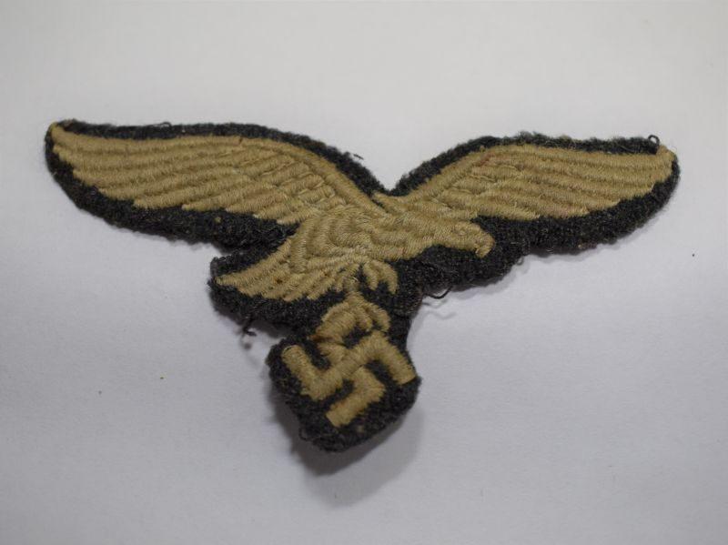 Original Uniform Removed WW2 German Luftwaffe Breast Eagle