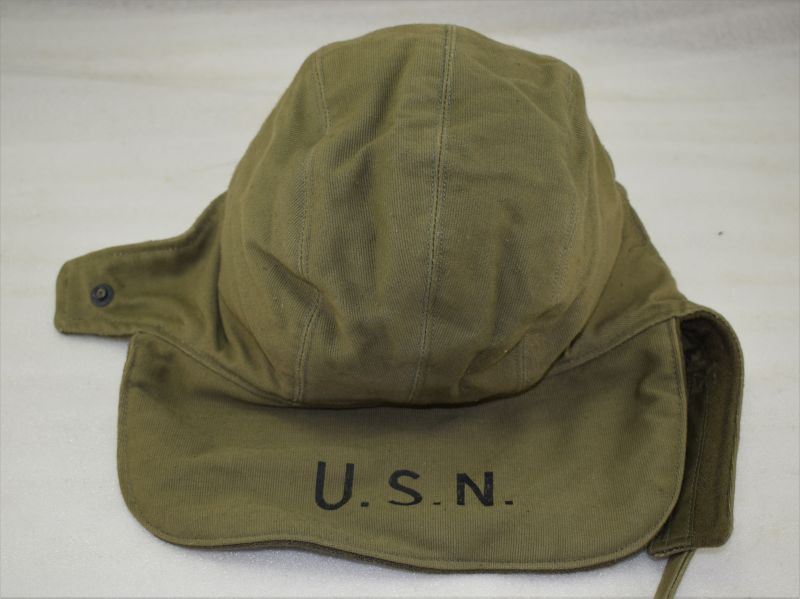 Excellent Unissued US Navy Winter Cap N1 NXsx 70201 Dating from June 1944
