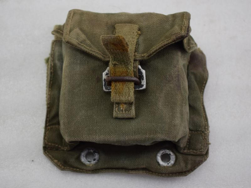 Unusual British Army 1944 Pattern Webbing Compass Pouch