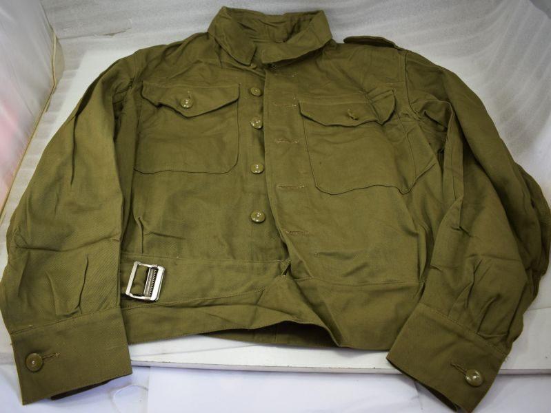 Un-issued WW2 British Army & Home Guard Denim Battledress Blouse 1944