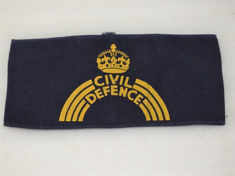 Original WW2 British Home front Civil Defence Members Armband