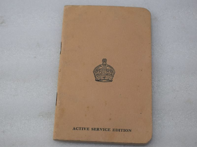 WW2 British Army Issue Active Service Gospel According to St John 1939