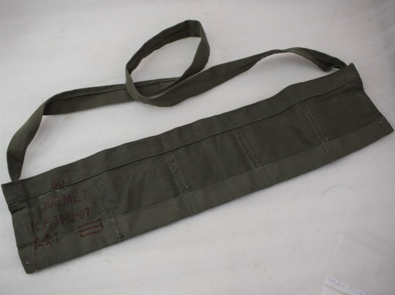 WW2 Pat British Army Tropical Issue Ammo Bandolier in Jungle Green 1967
