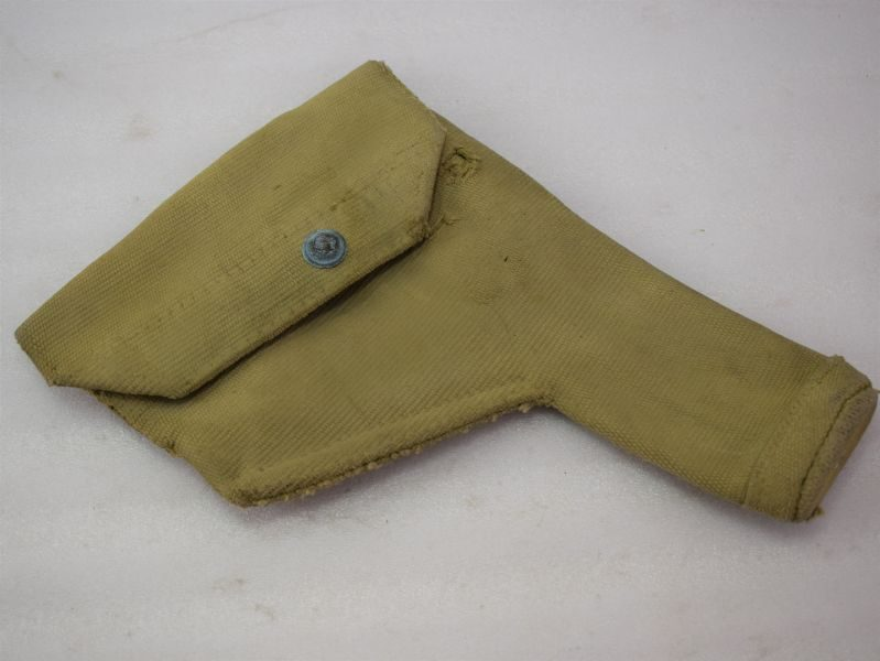 Well Used British Army Officers 37 Pat Pistol Holster MECo 1943.