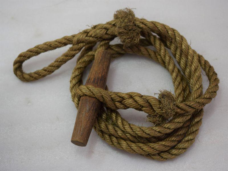 Original WW2 British Army, Commando, Para Etc Toggle Rope