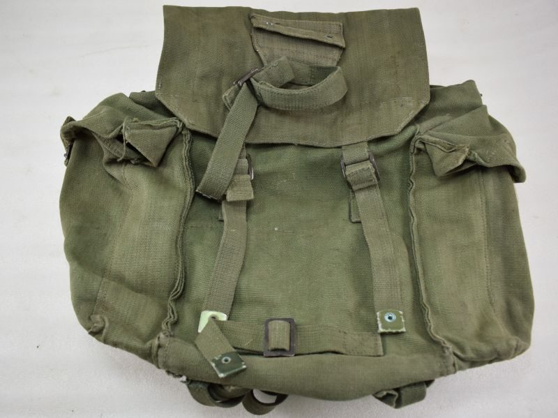 WW2 British Army 1944 Pattern Webbing Small Pack 1945 of 46 dated & AF coded