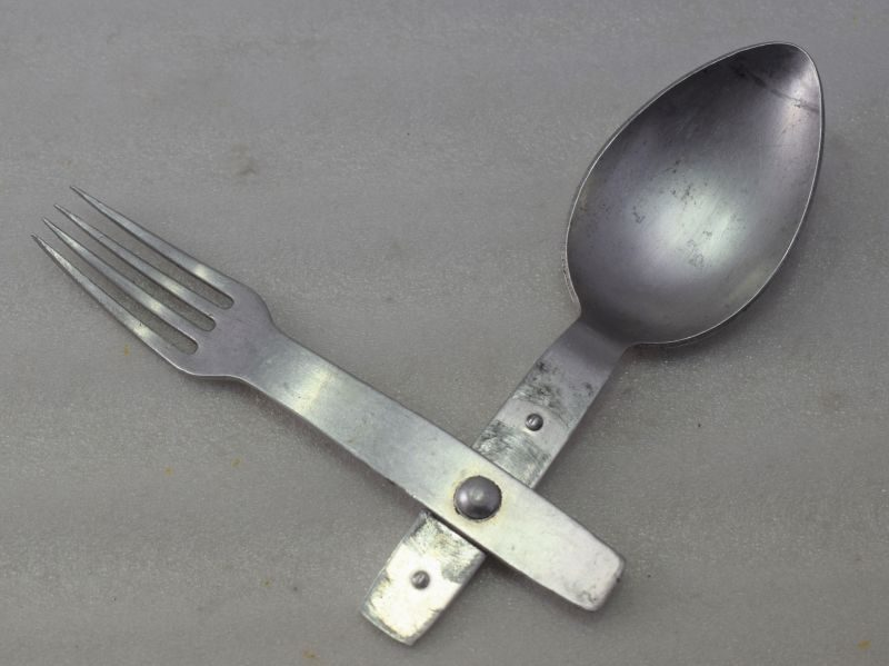 Nice original WW2 German Army Issue Combination Spoon & Fork 1939