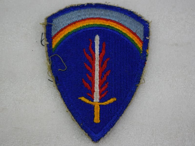 Original Post WW2 US Forces European Command Cloth Badge