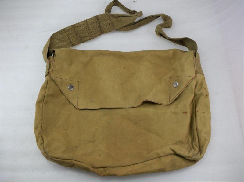 Unusual WW2 British Army, Home Guard Rubberised Waterproof Haversack 1941
