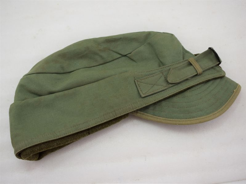 Excellent WW2 US Army Issue Cloth Winter Cap Dated 1941