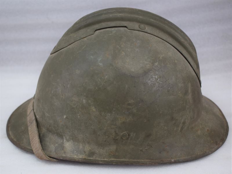 Excellent Original Pre WW2 & Early War French Army Adrian Helmet & Leather Liner
