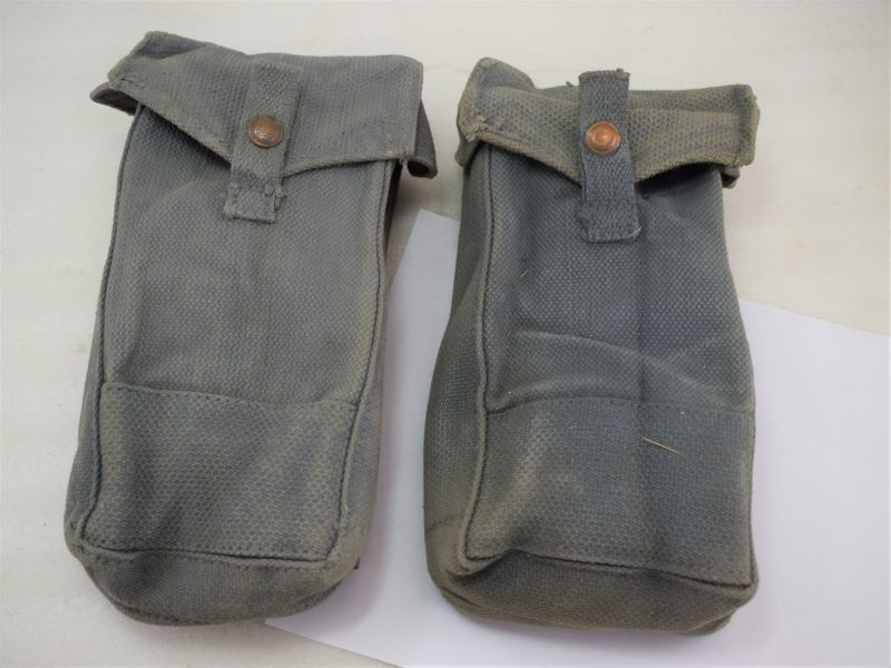 WW2 RAF Issue MKIII Bren Gun Magazine Pouches MW&S 1942