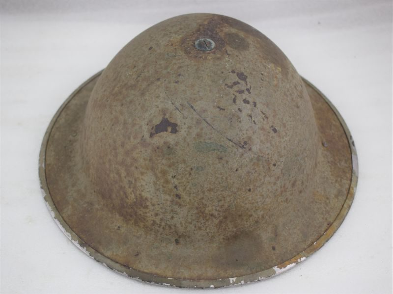 27 As Found WW2 British Army Tommy Helmet & Liner Dated 1940