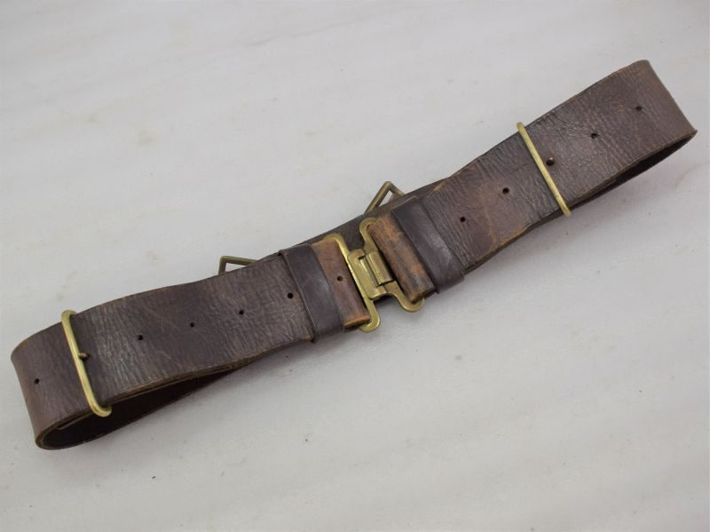 WW2 Home Guard Issue 1939 Pattern Leather Waist Belt