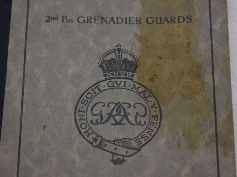 Original BAOR Handbook 2nd Bn Grenadier Guards Standing Orders 1946