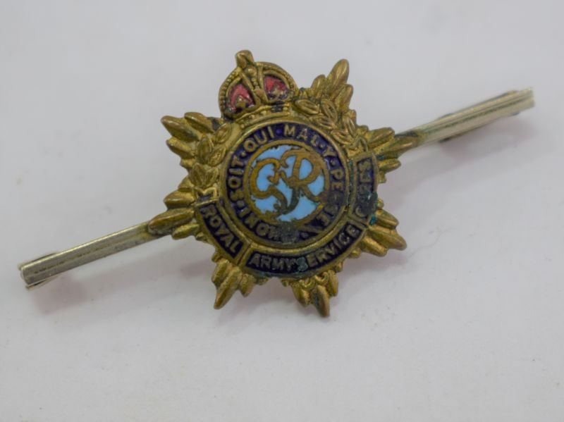 14 WW2 Royal Army Service Corps Sweetheart Brooch