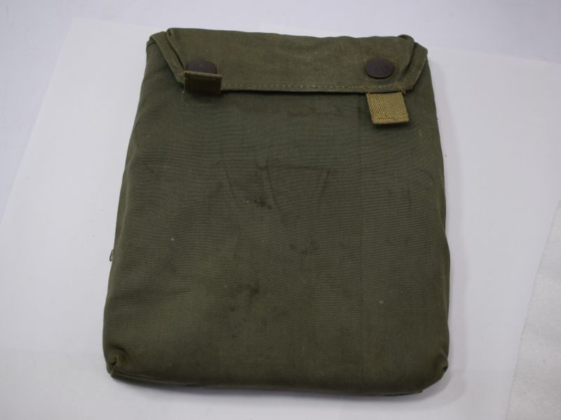 Original WW2 German Army Gas Cape Pouch Maker Marked jth