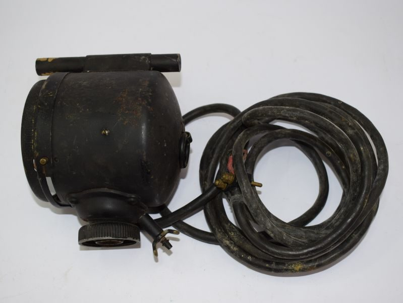 WW2 British Army Daylight Signalling Lamp and Cable