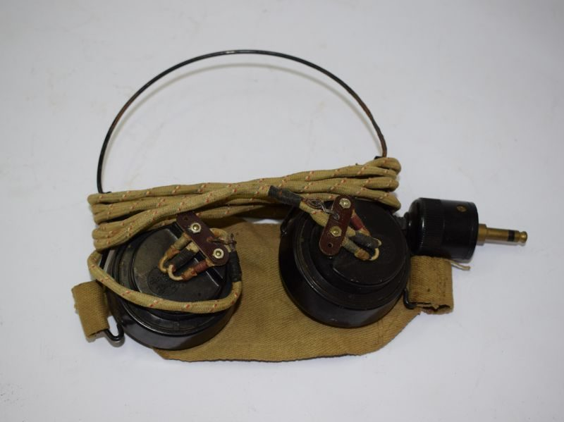 15 WW2 British Army DLR No5 Wireless Set Head Phones Receivers