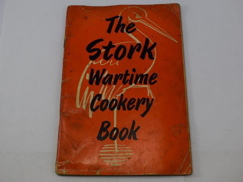 Tatty Original WW2 The Stork Wartime Cookery Book