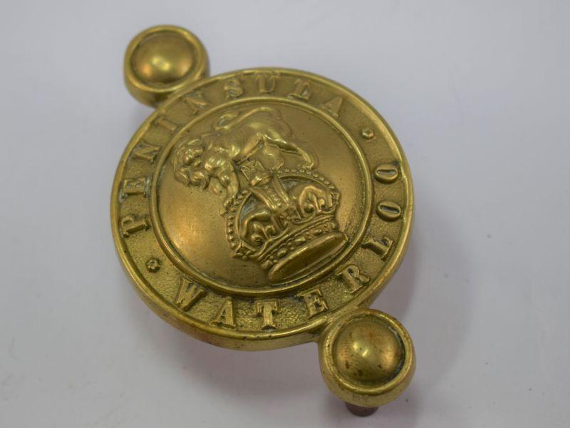 Original WW1 WW2 Life Guards/Household Cavalry Horse Bit Brass Badge