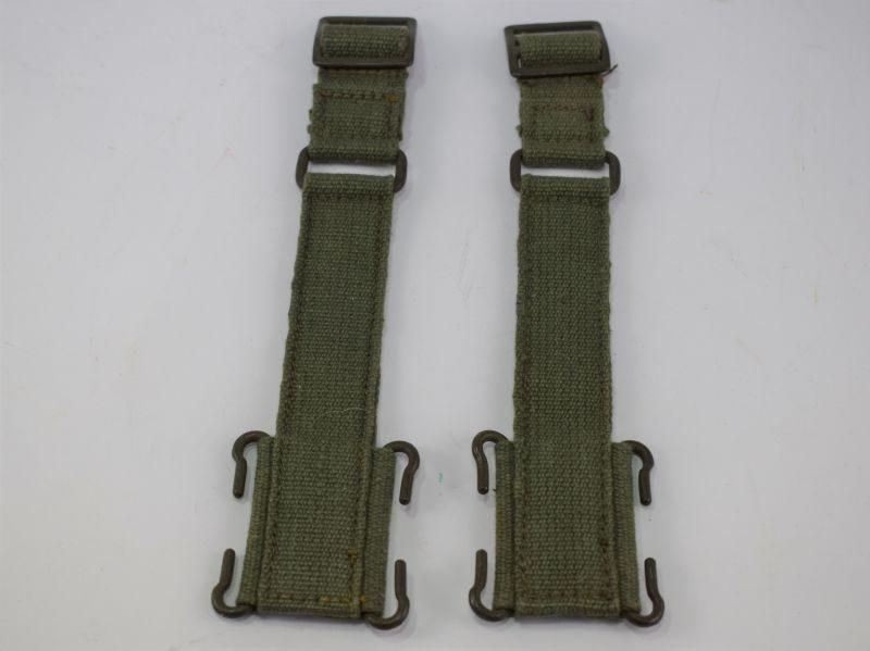 Mint Matching Pair 1944 Pattern Webbing Brace Attachments MW&S Ltd 1945