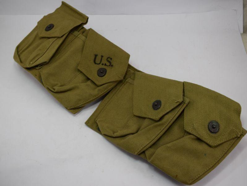 Near Mint Unissued WW2 US Army & USMC BAR Magazine Belt Dated 1941