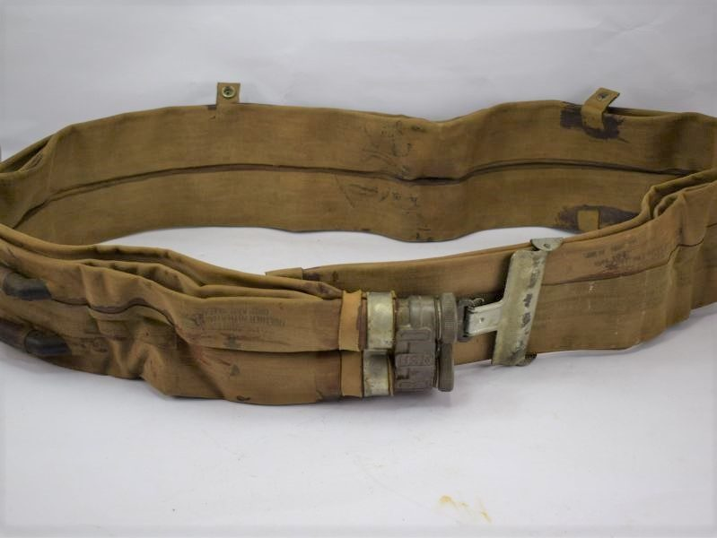 Original WW2 USN Issue Life Belt Dated 1944 As Used by US Army on D-Day