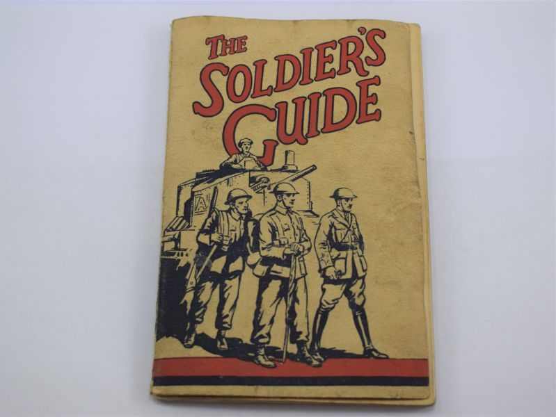 WW2 British Army Religious Booklet The Soldiers Guide
