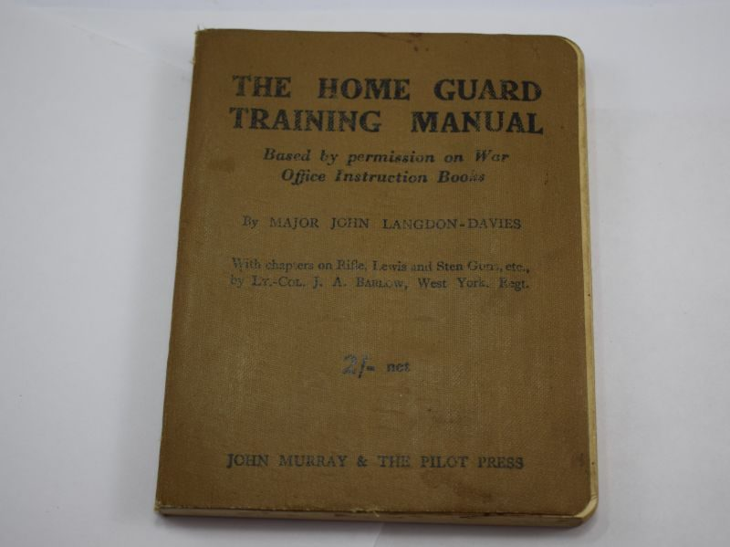 Original Booklet The Home Guard Training Manual Dated 1941