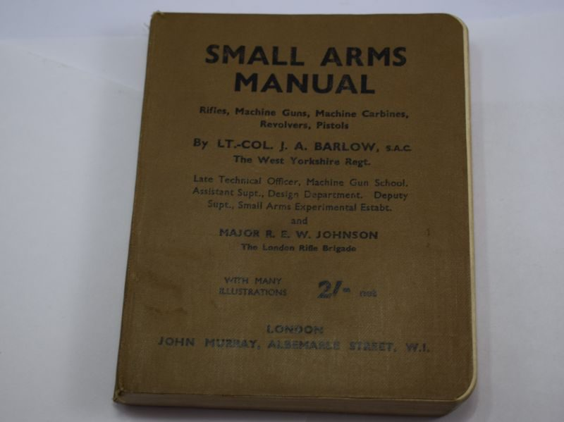 Original WW2 Small Arms Manual For the Home Guard Dated 1942.