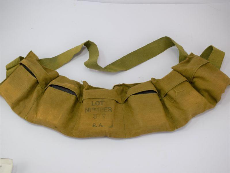 Excellent Original WW2 US Army Issue Cloth Ammo Bandolier