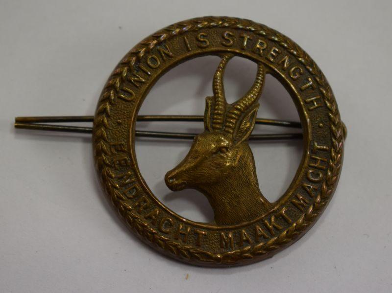 Original WW2 South African Army Springbok Cap Badge