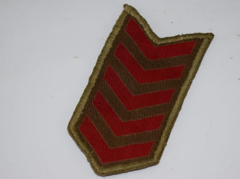 Original WW2 ATS Woman's Year Of Service Chevrons, 5 Years