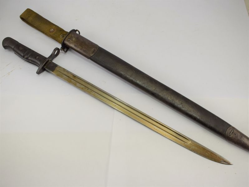 Excellent WW1 US Remington P13 Bayonet Use WW2 British Home Guard