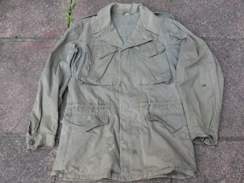 Original WW2 US Army Issue M-1943 Field Jacket 1944