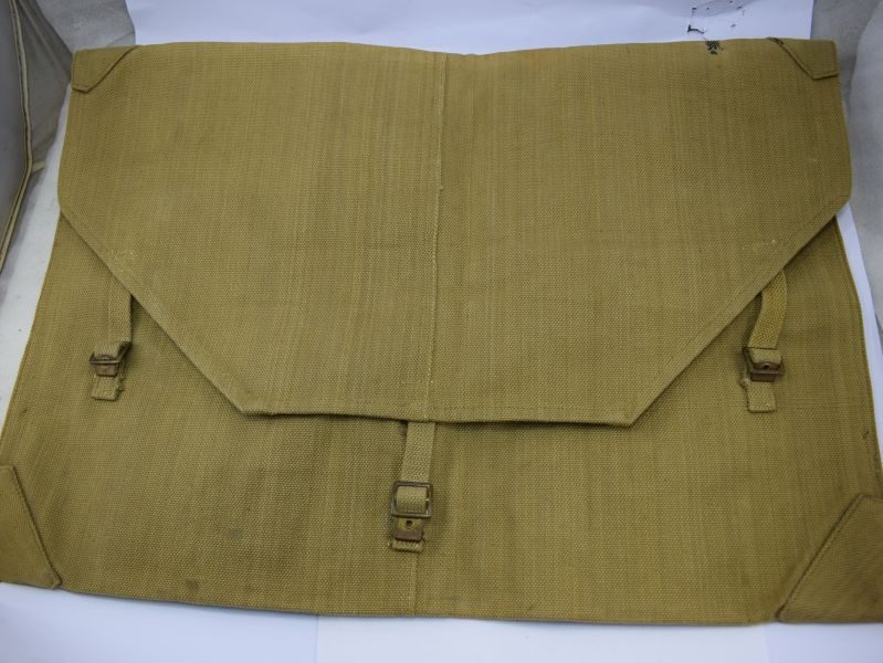 Excellent Unissued British Army Officers Large Webbing Map Case MECo 1941