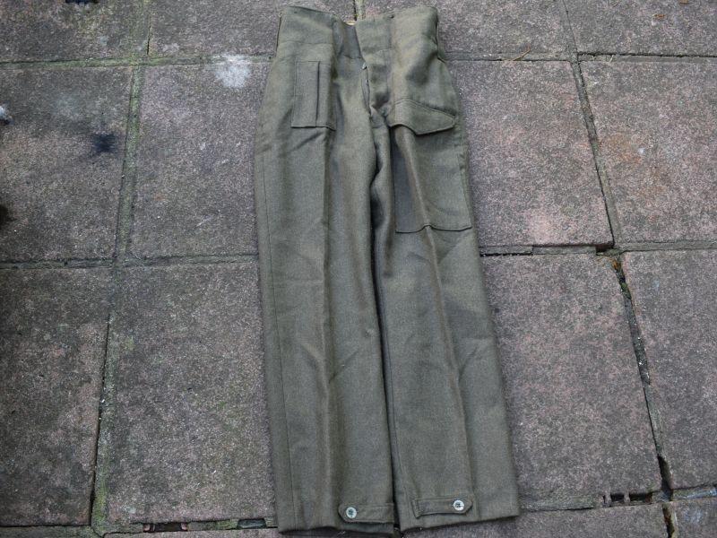 WW2 Australian Made British Army Battledress Trousers 1943
