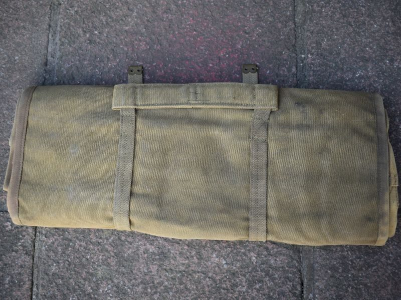 Unissued Original WW2 Oerlikon 20mm Cannon Spare Parts & Tool Roll 1944