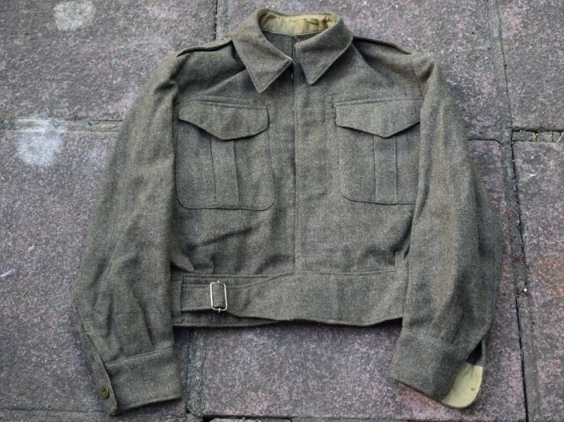 WW2 Canadian Made Battledress Blouse Dated 1945