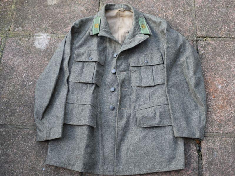 WW2 Swedish Army Issue Jacket Dated 1941