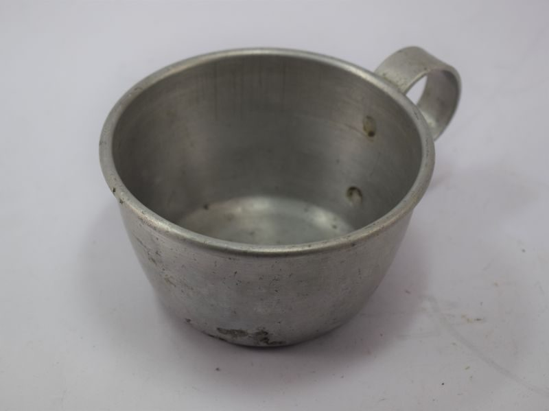 1930s WW2 French Army Alloy Drinking Cup