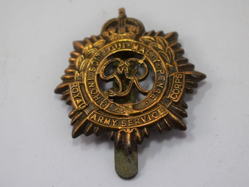 Original WW2 Royal Army Service Corps Cap Badge