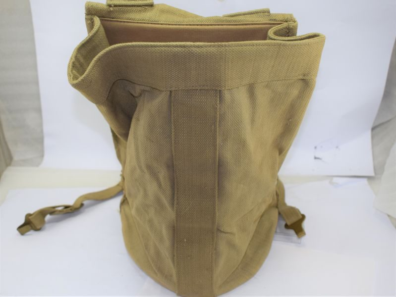 Original Unissued WW2 British Army Rations Carry Backpack for Large Thermos etc